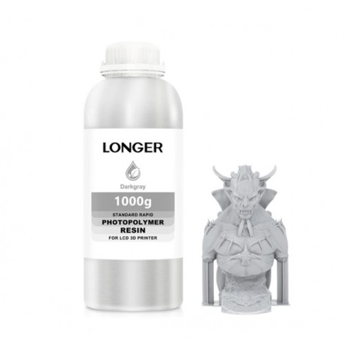 LONGER 405nm UV Resin 500g Dark Grey